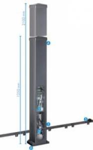 SP 900 automatismo para puertas correderas
